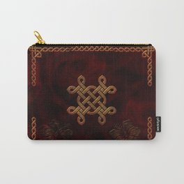 Celtic knote, vintage design Carry-All Pouch