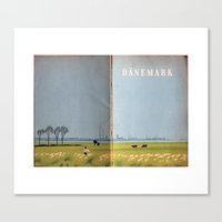 denmark Canvas Prints featuring denmark  by the secret doors