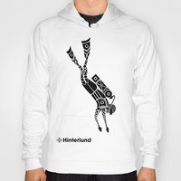 diver Hoodies featuring Diver by Hinterlund
