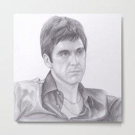 Al Pacino - Scarface Metal Print