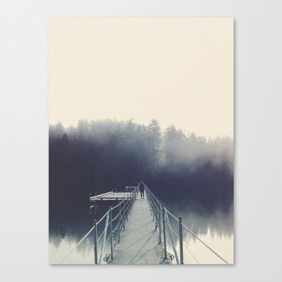 Sasamat Fog Canvas Print