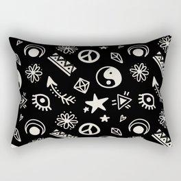 BOHEMIAN BOHO PATTERN 1 Rectangular Pillow