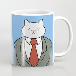 Business Cat Coffee Mug
