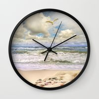 paradise Wall Clocks featuring Paradise by RasaOm