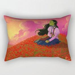 I'm not that girl Rectangular Pillow