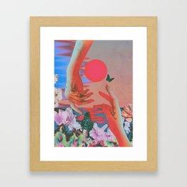 Strange Times Framed Art Print