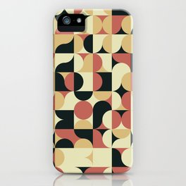 Abstract Geometric Artwork 41 iPhone Case