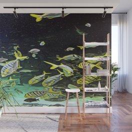 Cool School Fish Hangout Wall Mural