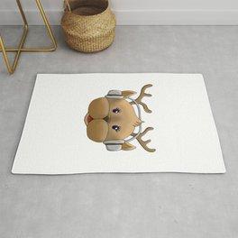 Millennial reindeer Rug