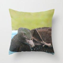 Scrub-a-Dub Throw Pillow