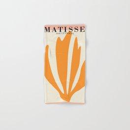 Henri matisse the cut outs contemporary, modern minimal art Hand & Bath Towel