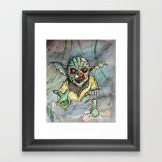 zombie i am Framed Art Print