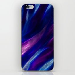 Blue Flames iPhone Skin