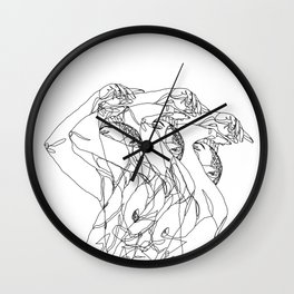 Out of Body Wall Clock