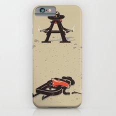 New Serif in Town Slim Case iPhone 6s