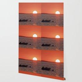 Plum Cove Beach Sunset 7-11-18 Wallpaper