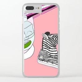Zebra Phone in Tokyo Roppongi Clear iPhone Case