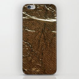 Golden Wrinkles iPhone Skin