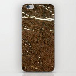 Golden Wrinkles iPhone Skin