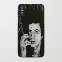 "nick cave iPhone & iPod Cases featuring Nick Cave ""Loverman"" by Kate Davis"