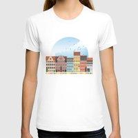 copenhagen T-shirts featuring Copenhagen by HOONISME