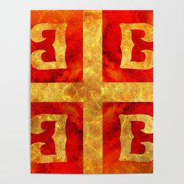 Katakouzenos coat of arms Poster
