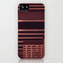 ABSTRACT IN STEEL AND CONCRETE iPhone Case