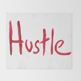 Hustle Throw Blanket