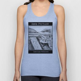 Amos Fortune Snake on Tracks Unisex Tank Top