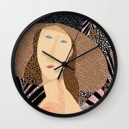 Women of Modigliani 1 Wall Clock