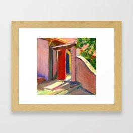 David's Doorway Framed Art Print