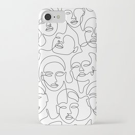 Crowded Girls iPhone Case