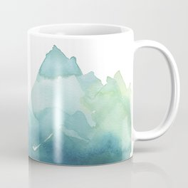 Blue and Green Mountains Coffee Mug
