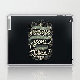 At My Table Laptop & iPad Skin