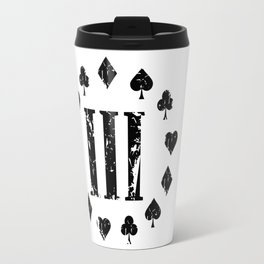 Three Percenter Aces Distressed Travel Mug