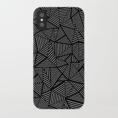 Abstraction Linear iPhone X Slim Case