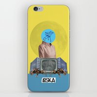 bubble iPhone & iPod Skins featuring Bubble by LOSKA