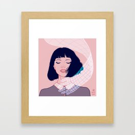 Grab Framed Art Print