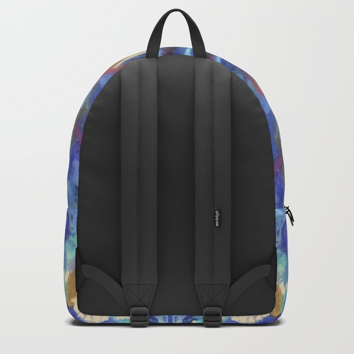 Watercolor Rorschach Backpack