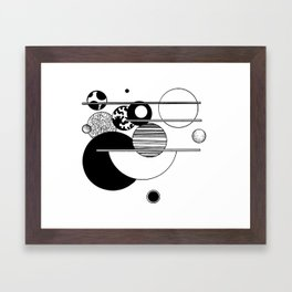 Abstract 52 Framed Art Print