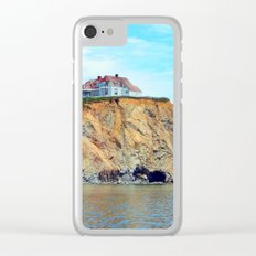 Cliffs of Perce Quebec Clear iPhone Case