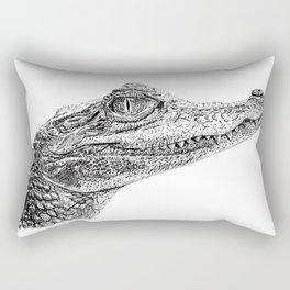 Baby Crocodile Rectangular Pillow