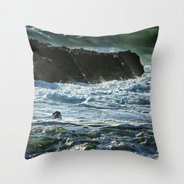 I Spy A Seal Throw Pillow