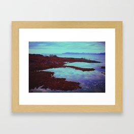 Azurean Expanse Framed Art Print