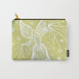 Archangel Raphael - Green Rays Carry-All Pouch