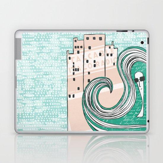 City Chic Laptop & iPad Skin