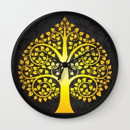 Bodhi Tree0103 Wall Clock