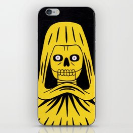 Yellow Death iPhone Skin