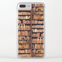 Read to live, live to read. Clear iPhone Case