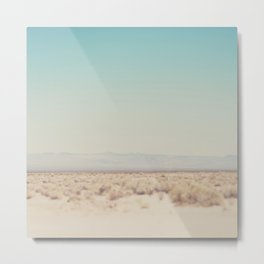 in the middle of the desert ... Metal Print
